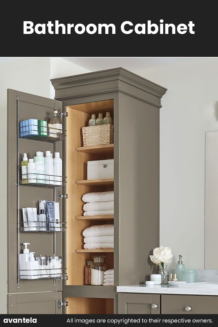 45++ Large storage cabinets for bathroom ideas