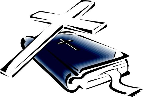 open bible with cross clip art clipartix the cross in art and