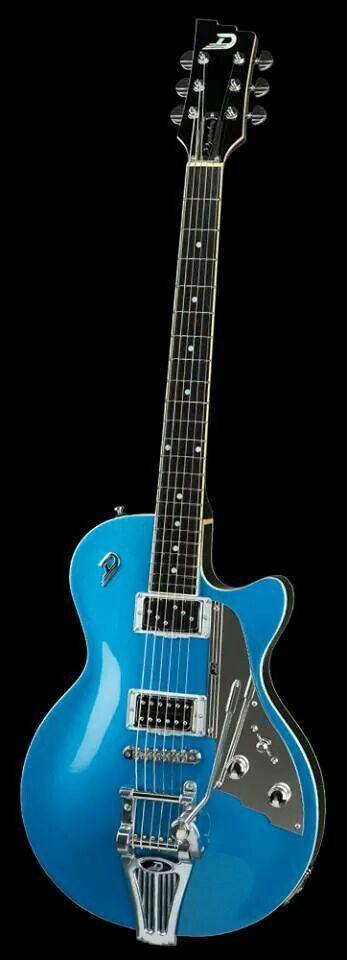 Gorgeous!  Duesenberg Starplayer Catalina Blue