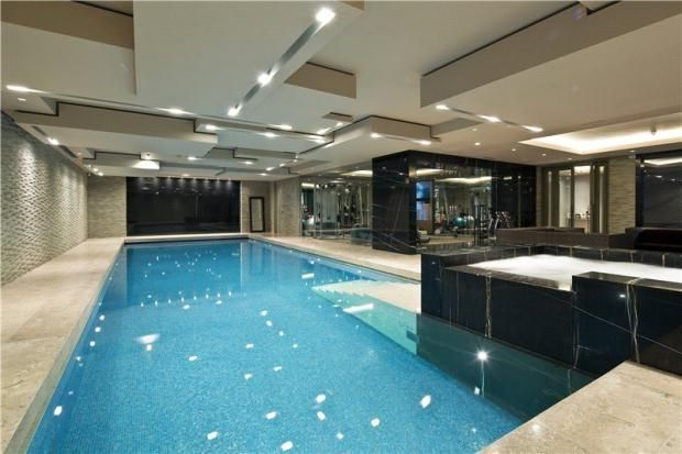 Swimming pool and gym - A superb 6 bedroom detached house ...