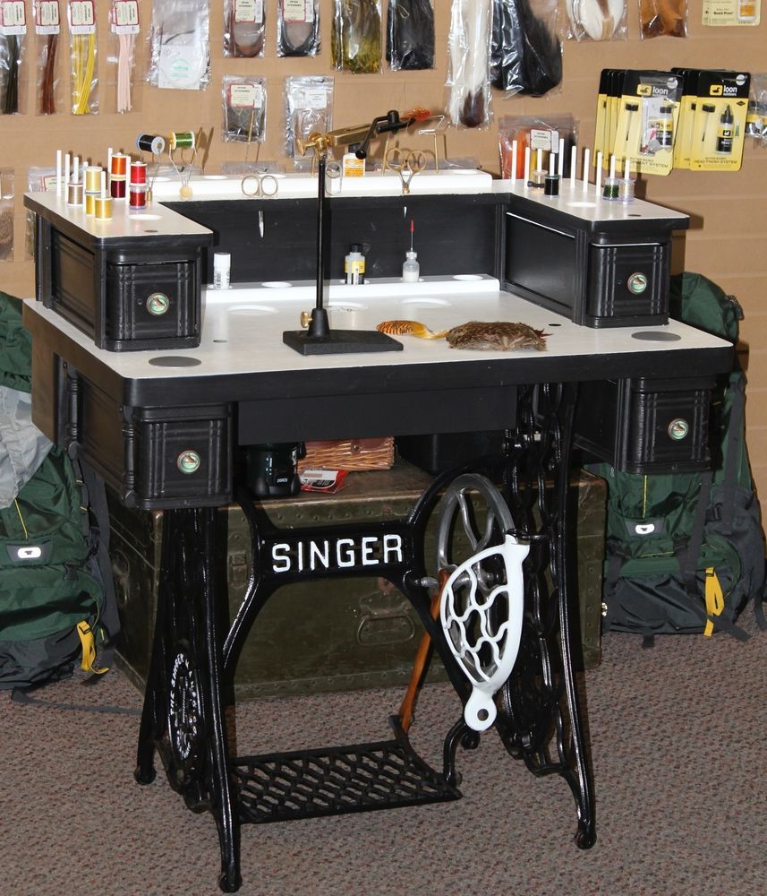 Fly Tying Desks And Benches - Fly tying desk fly tying station