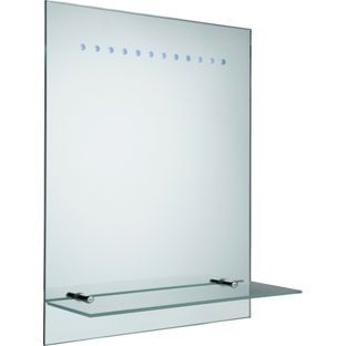 Buy Illuminated Frosted Bathroom Mirror At Argoscouk Visit Argosco
