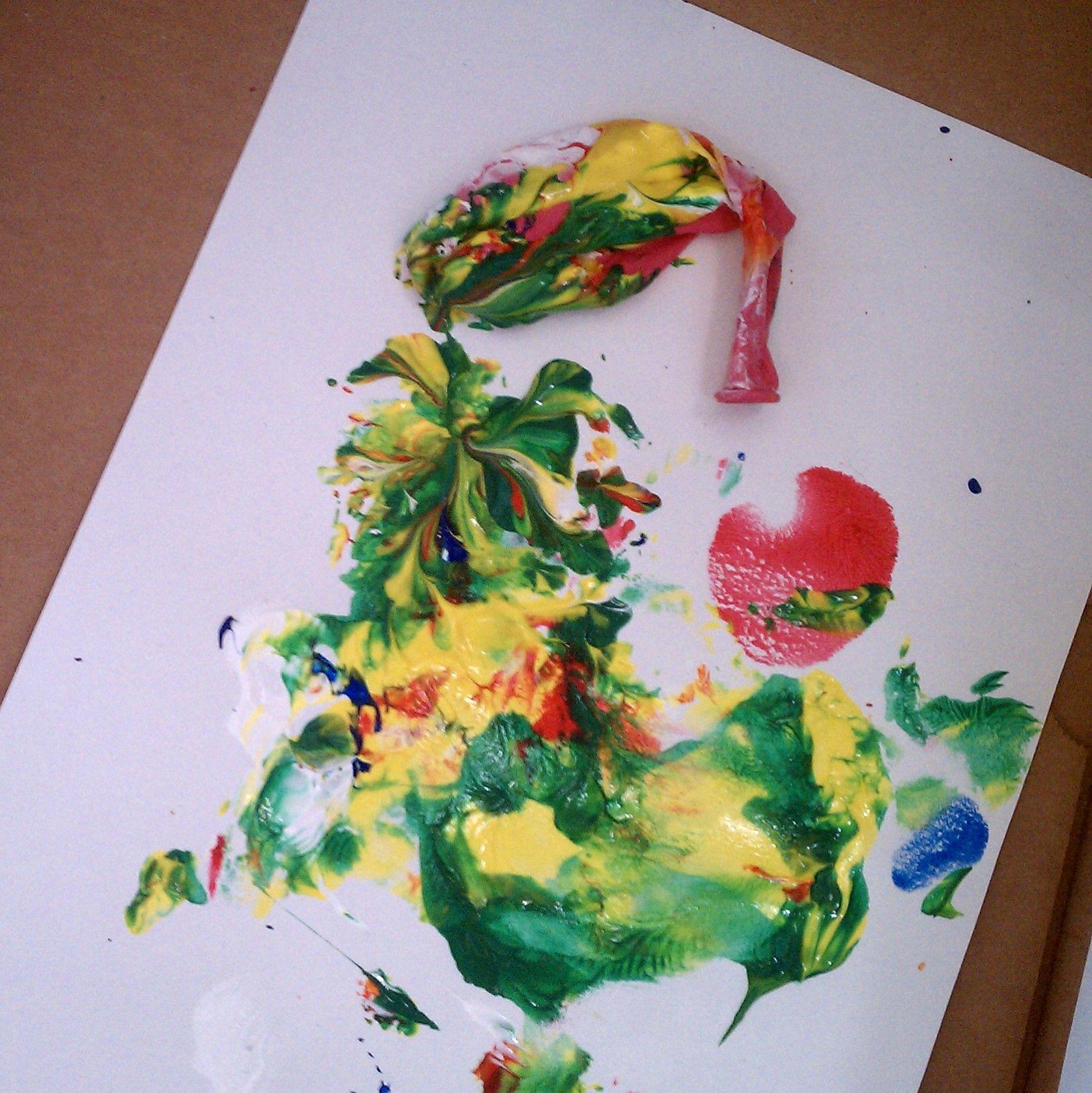Alternative Painting 38 Different Ways!}   Preschool activities ...