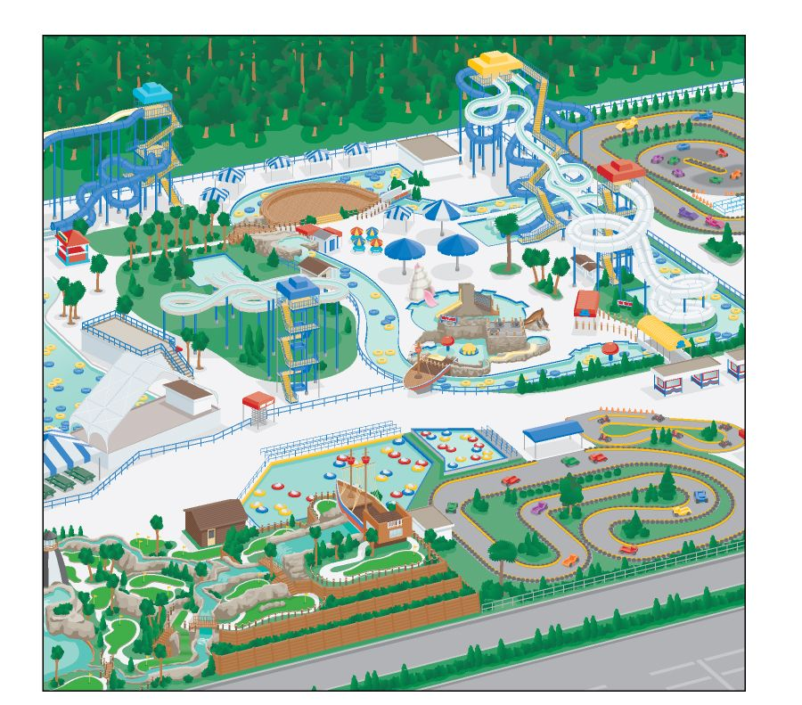 Map Of Hollywood Studios At Disney World American Idol - Map of us amusement parks