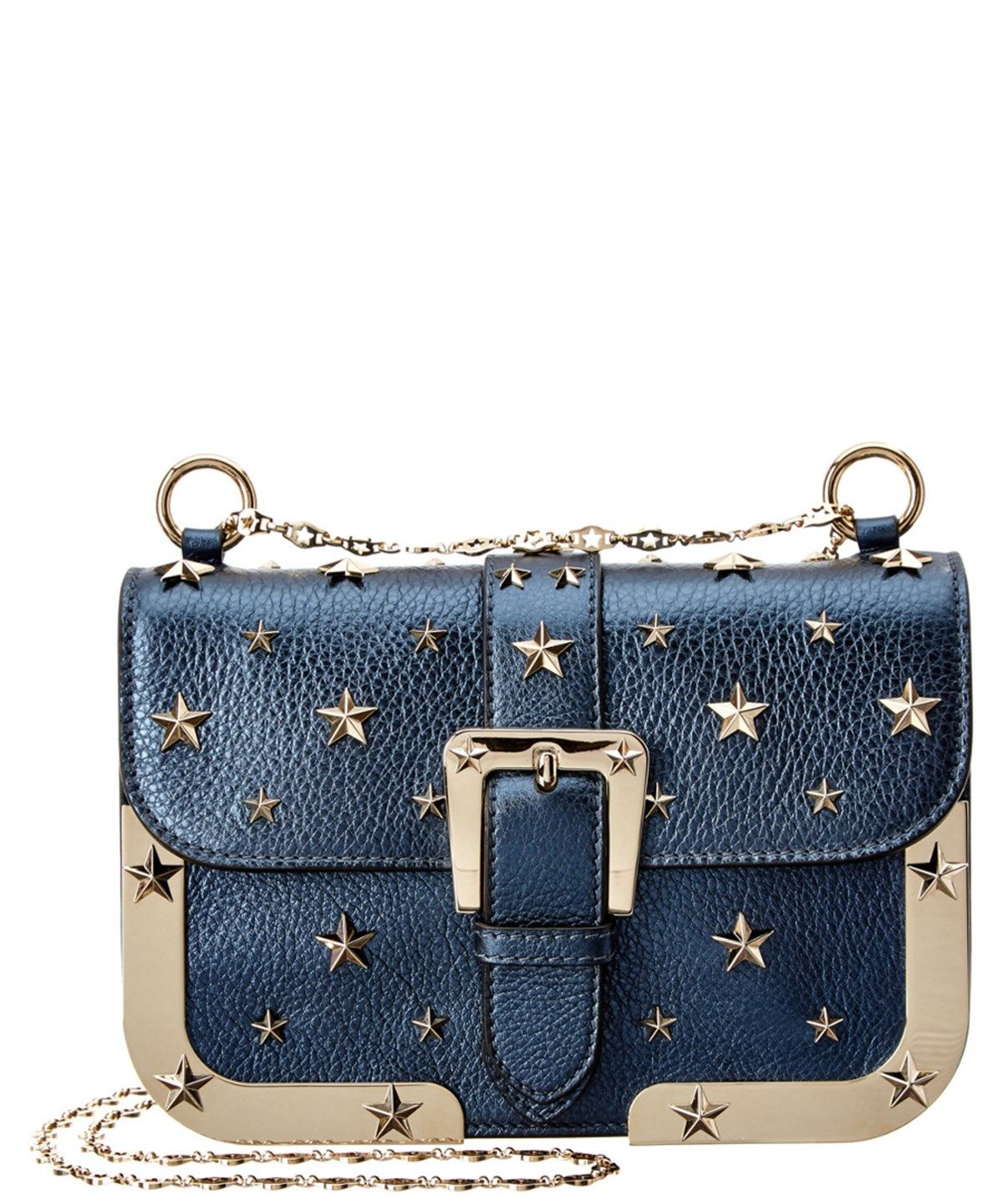 cfc87f3df2 RED VALENTINO Red Valentino Studded Metallic Leather Shoulder Bag'. # redvalentino #bags #shoulder bags #hand bags #lining #leather #metallic #