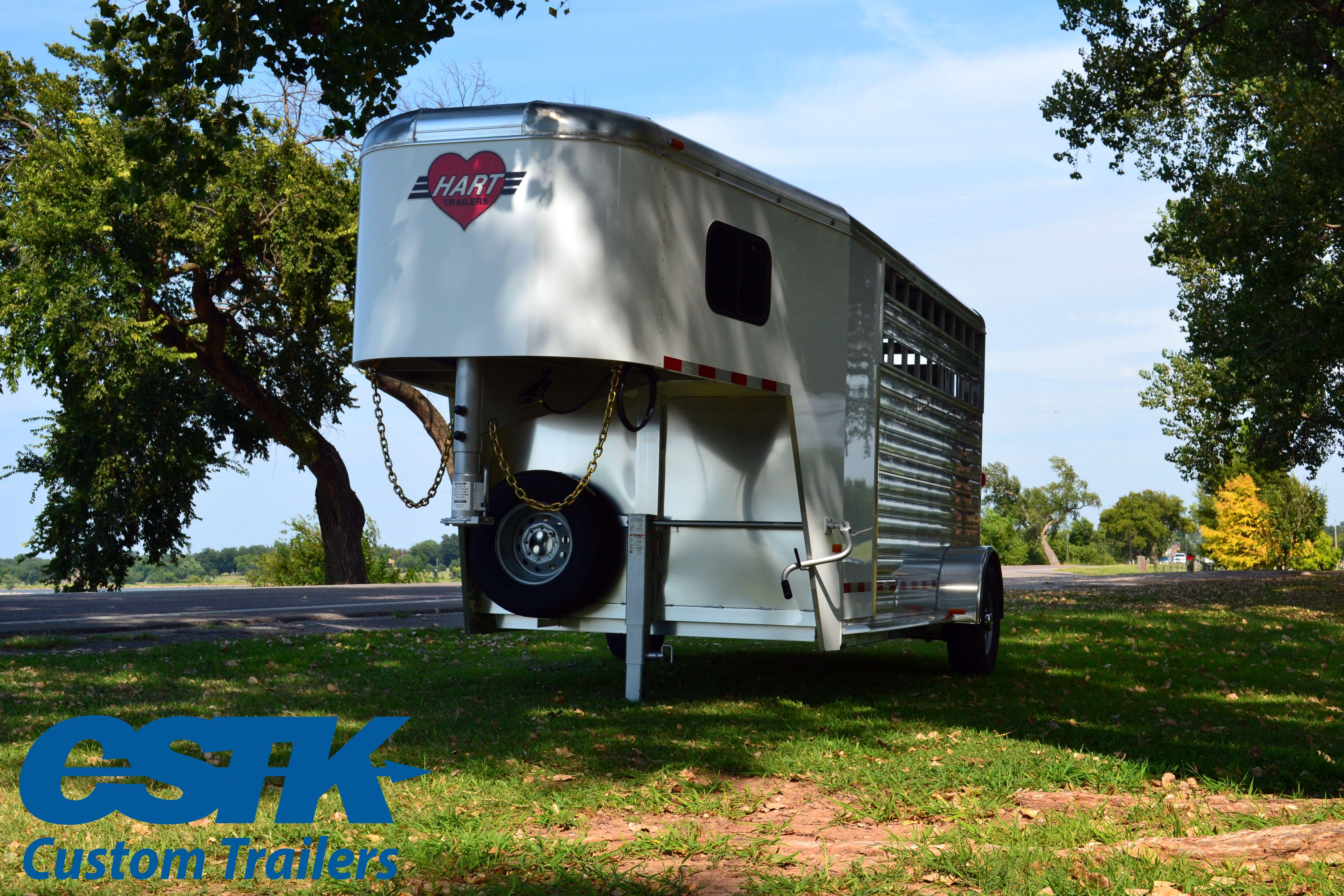 hart trailers short go stock combo trailer single axle all