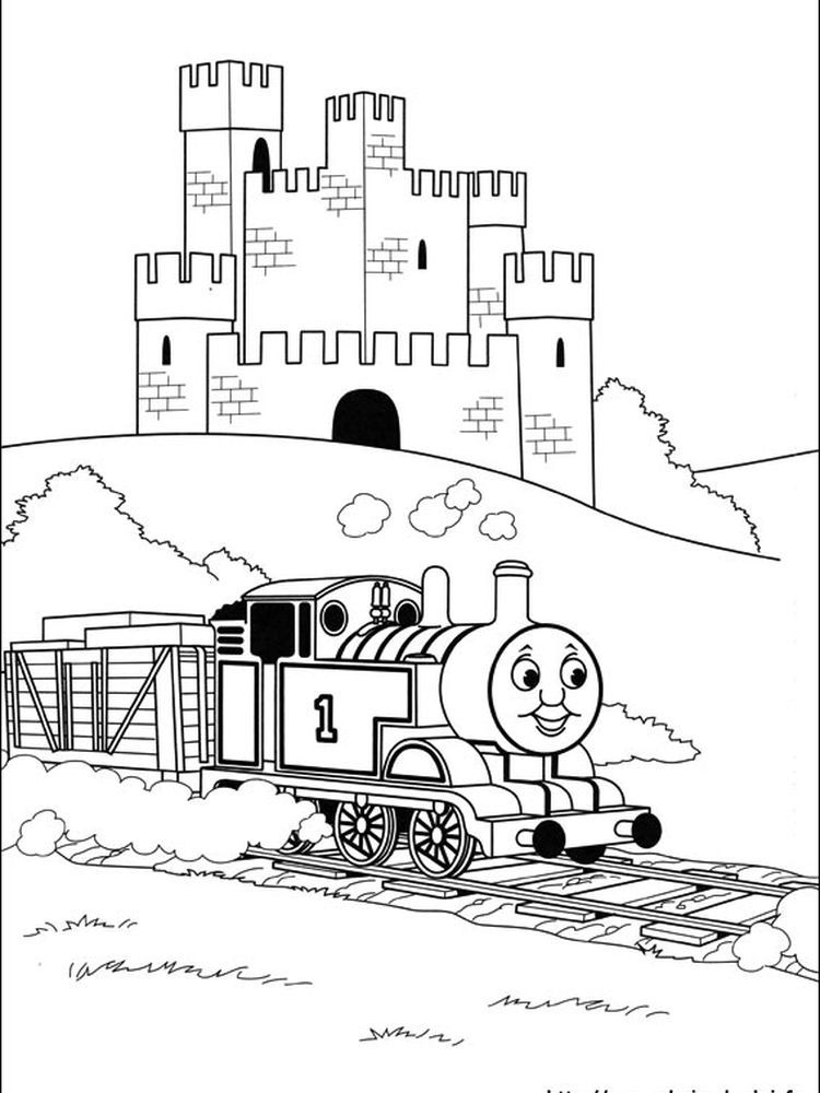 Printable Thomas And Friends Coloring Pages For Kids
