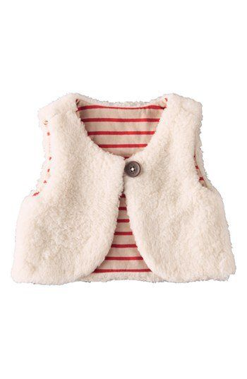 Mini Boden Jersey Gilet & Dress (Baby Girls) | Nordstrom