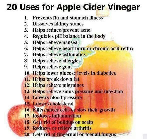 .20 Uses of Apple Cider Vinegar