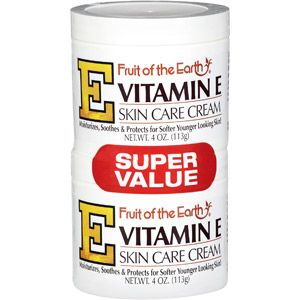 Fruit Of The Earth Vitamin E Skin Care Cream Super Value 4 Oz 2 Pack Walmart Com Skin Care Cream Moisturizing Skin Cream Skin Care
