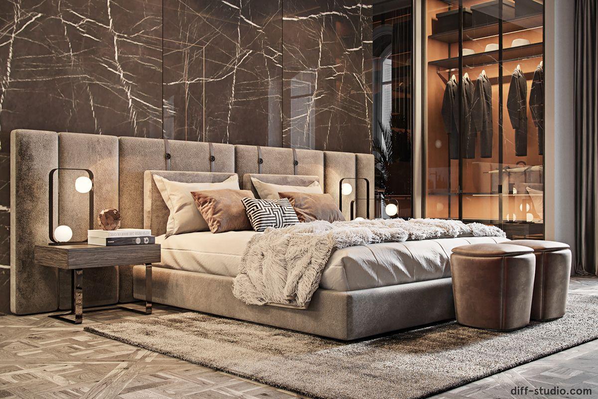 Fabulous Story In Paris On Behance Luxury Bedroom Design Luxurious Bedrooms Modern Luxury Bedroom Modern luxury bedroom set