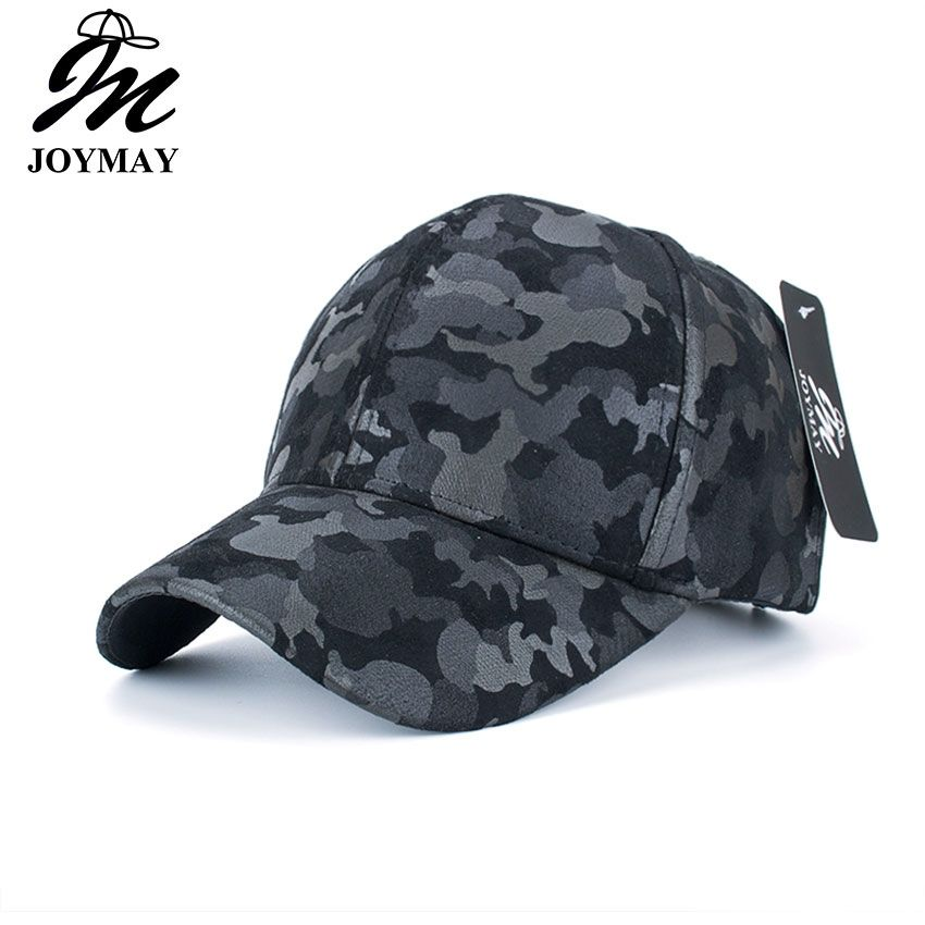 53f8fdeb81b JOYMAY Wholesale PU Fitted Hat Baseball Cap Casual Camouflage Dot casquette  Snapback Gorras Summer dad Hats