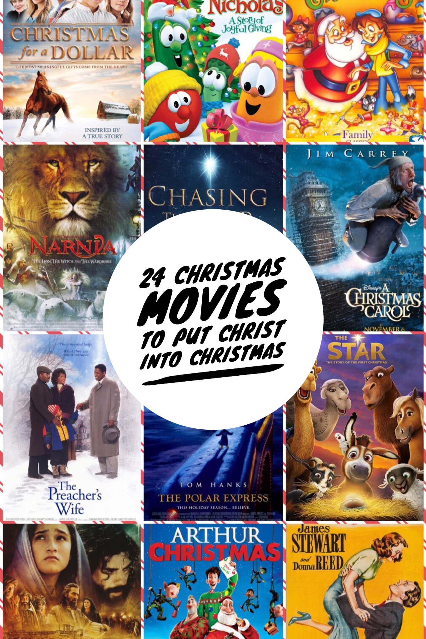24 Christmas Movies To Put Christ Back Into Christmasi Scripture Saves Christmas Movies Christmas Scripture Scripture