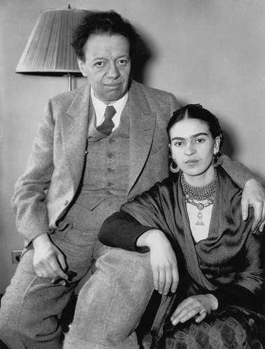 Diego Rivera and Frida Kahlo exhibit in Detroit Spring 2015
