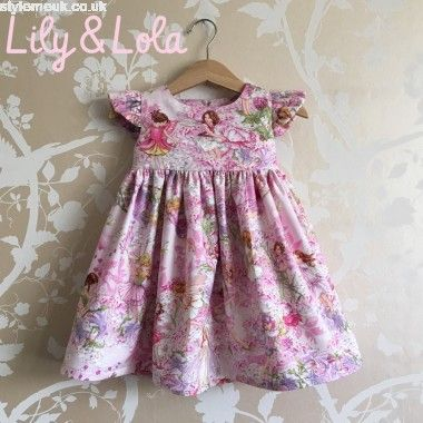 4d25d355cbc Buy F L O R E N C E Flower Fairies Handmade Dress by Lily and Lola ...