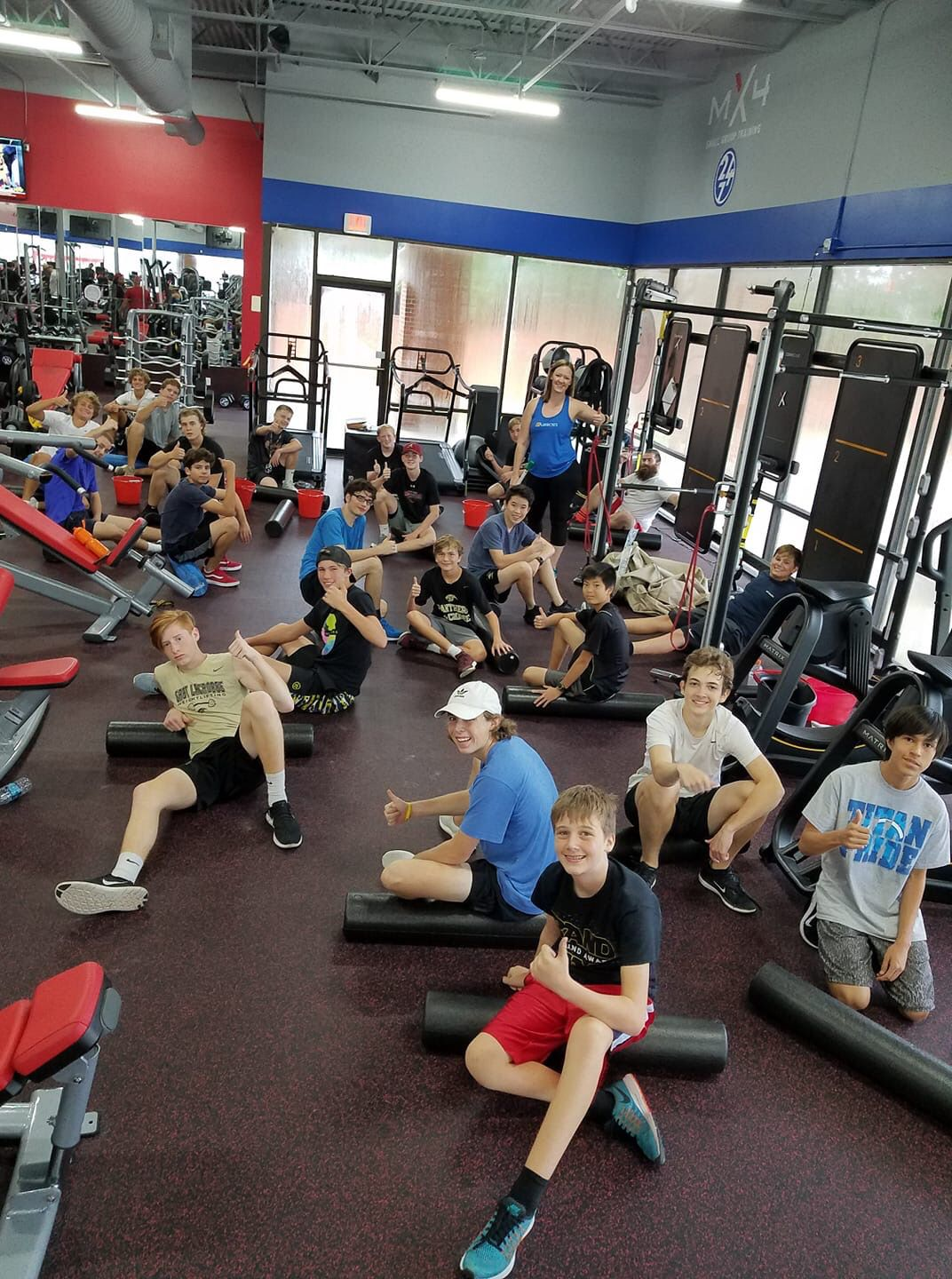Mx4 Small Group Training Small Group Training Anytime Fitness Gym Workouts