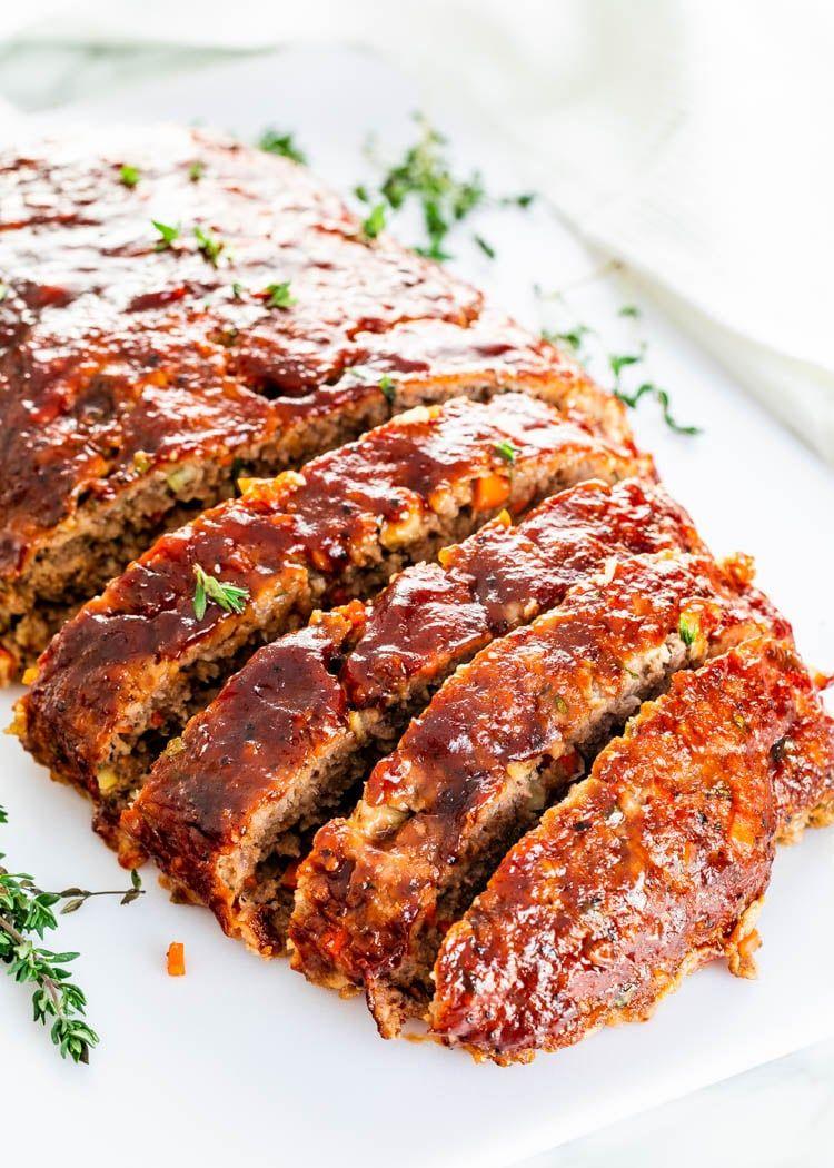Easy Meatloaf Recipe   Meatloaf recipes, Easy meatloaf, Meatloaf