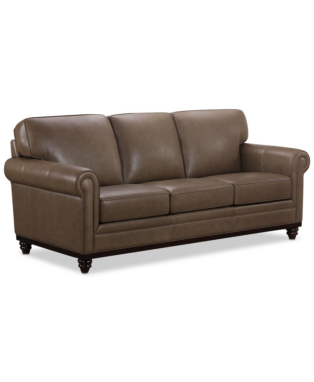 Prime Martha Stewart Collection Bradyn Leather Sofa Collection Machost Co Dining Chair Design Ideas Machostcouk