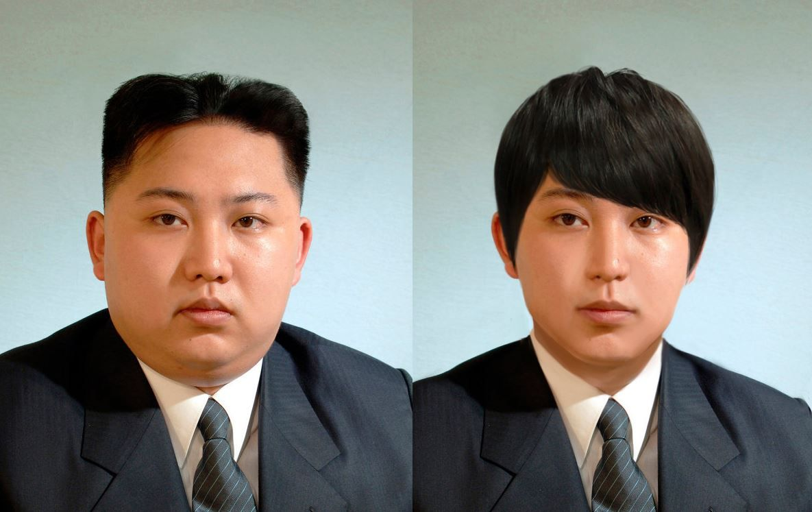 North Korean Leader Kim Jong Un Transforms Into Kpop Idol North Korean North Korea Kim Kpop Idol