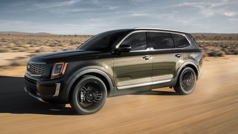 2020 Kia Telluride Suv Mixes Off Road And Upscale Suv Cars Mid Size Suv Kia Motors