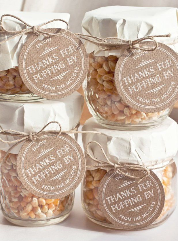 Cute and inexpensive diy wedding favors popcorn in a jar by diy cute and inexpensive diy wedding favors popcorn in a jar by diy ready at junglespirit Images