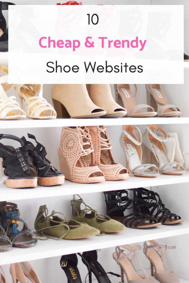10 Cheap \u0026 Trendy Shoe Websites | Fit