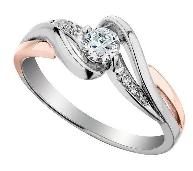 Two Tone Engagement Rings For Women