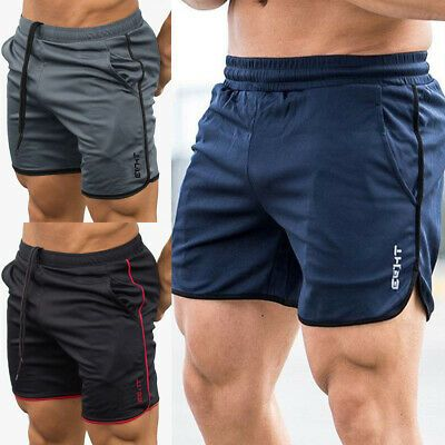 Mens Womens Summer Shorts Sports Pants Fashion Simple Elastic Waist Pant Casual Gym Running Pant Beach Athletic Pants