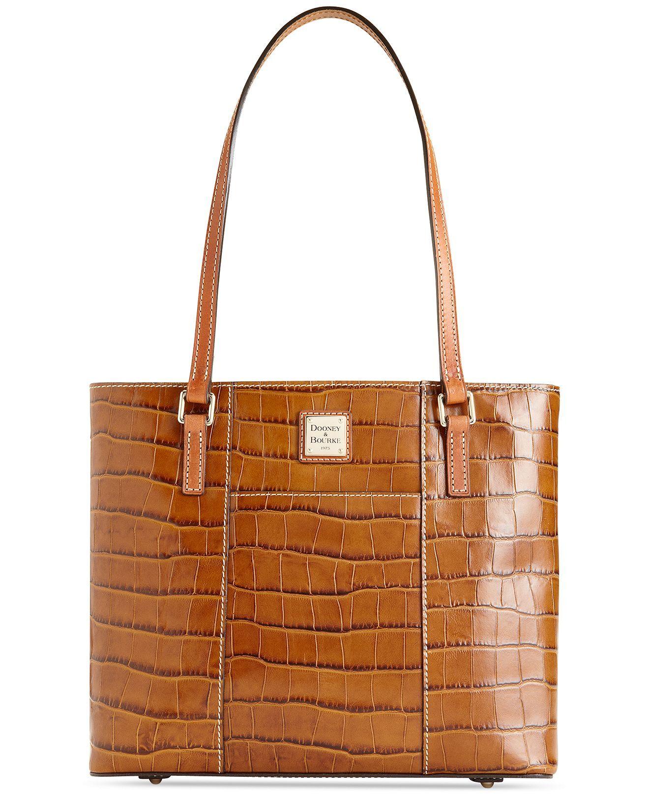 Dooney Bourke Handbag Croco Small Lexington Tote Handbags
