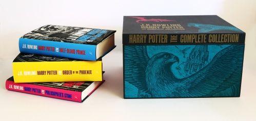 Harry Potter Adult Hardback Boxset (Kovakantinen)