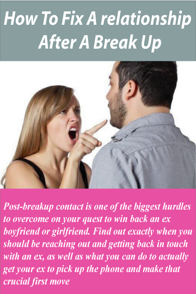 How To Fix A relationship After A Break Up | Relationships