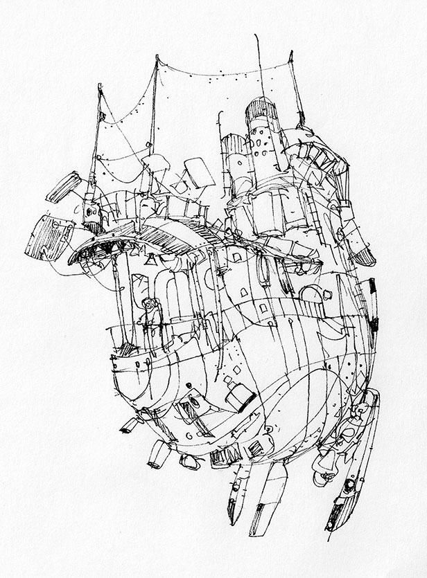 Sketchbook: Sky Harbour