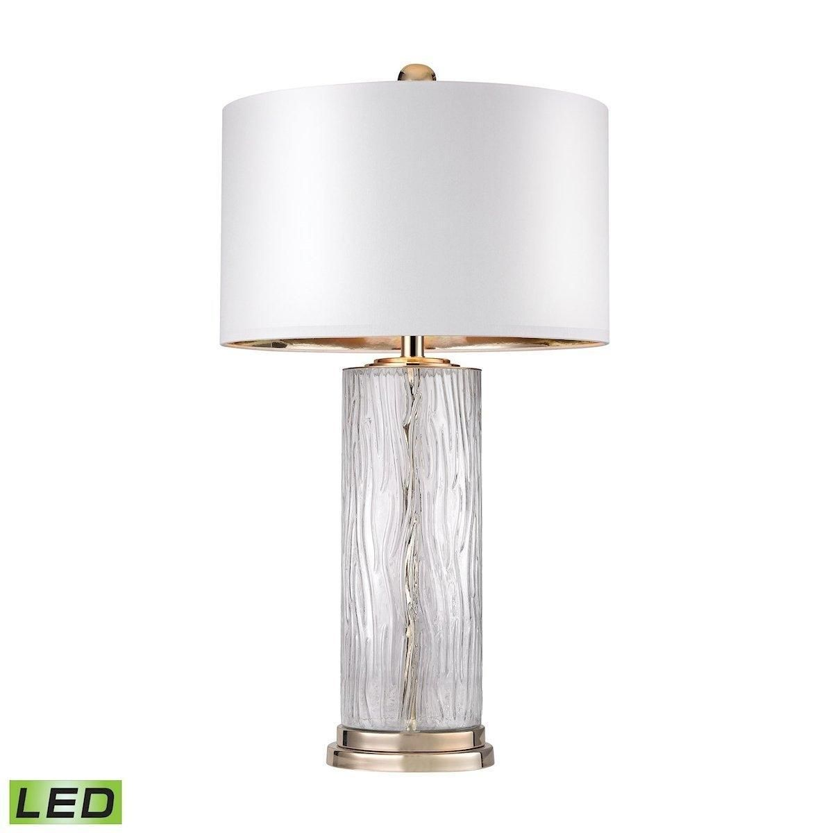 Water Glass LED Table Lamp Dimond Lighting D2747-LED in ...