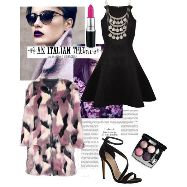 Purple power by julie-buathier on Polyvore featuring polyvore, mode, style, Ted Baker, Nina Ricci, Carvela Kurt Geiger, Free Press, Chanel and An Italian Theory