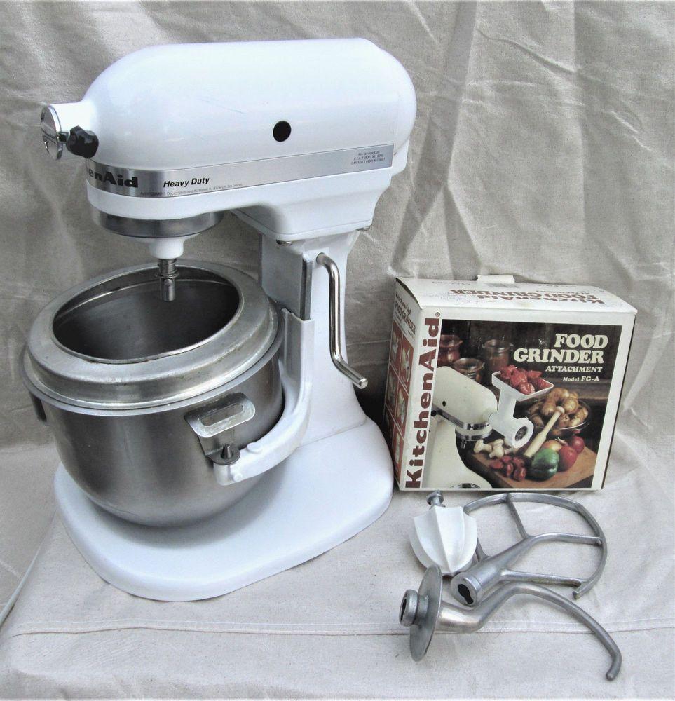 kitchenaid stand mixer white sale