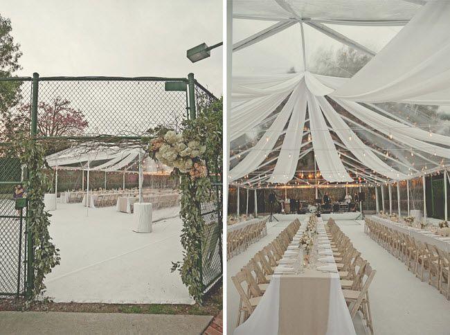 Once A Tennis Court Wedding Event Ideas Wedding Tennis