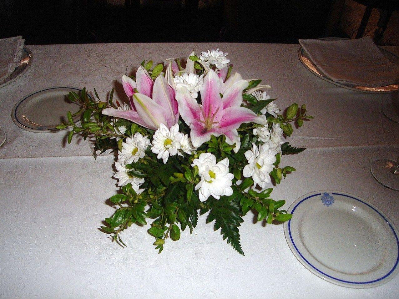 Centros De Mesa Con Flores Naturales Para Primera Comunion By Centros De Mesa Con Flores Naturales Para Primera Comunion Plants