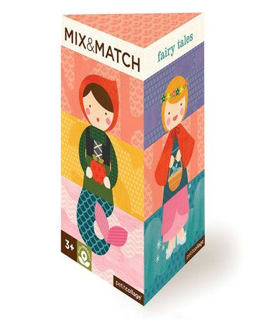 Another great find on #zulily! Fairy Tales Mix & Match Card Game Set #zulilyfinds