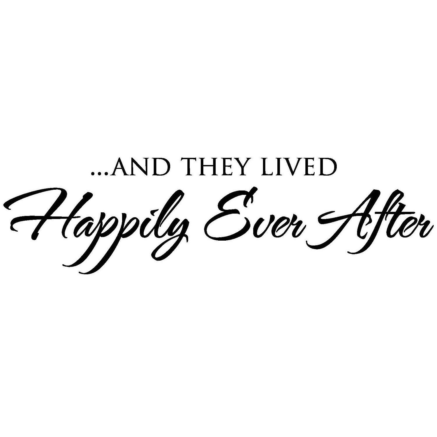 and they lived happily ever after - HD1500×1500