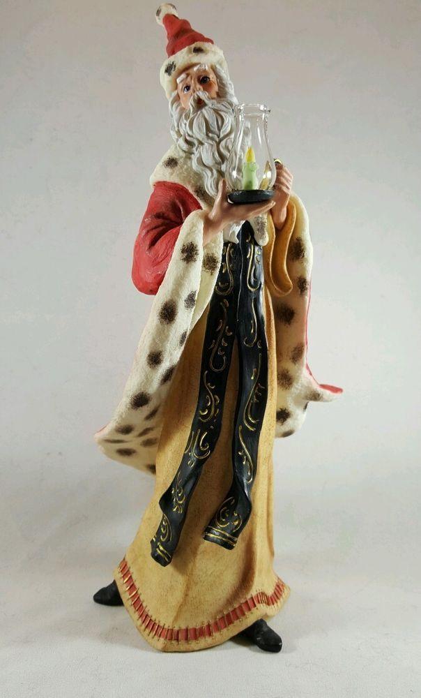 Details About Santa Christmas Figurine Sarah S Attic Spirit