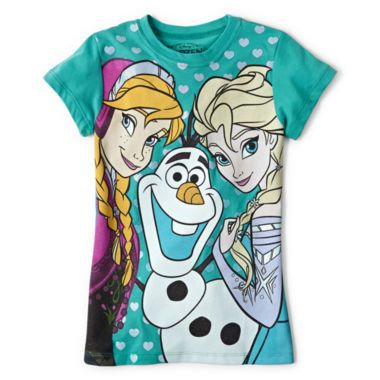 4ce31ebee6836 Mighty Fine Frozen Tee - Girls 7-16 found at @JCPenney   outfit for ...