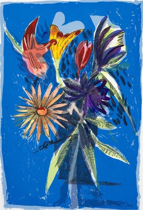 CHARLES BLACKMAN (born 1928) The Melbourne Cup Bouquet