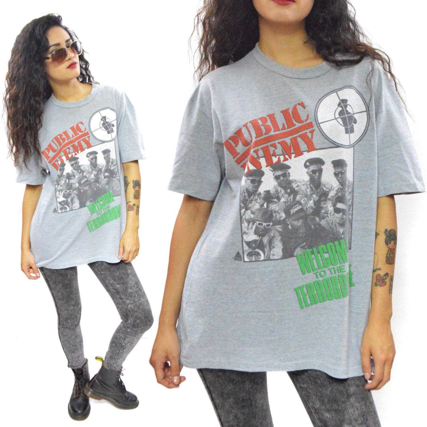 Vintage 90s Public Enemy Welcome to the Terrordome T Shirt Sz L by Dopedoll on Etsy https://www.etsy.com/listing/234123211/vintage-90s-public-enemy-welcome-to-the