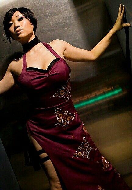 Movies resident evil retribution ada wong li bingbing choker asian women brunette