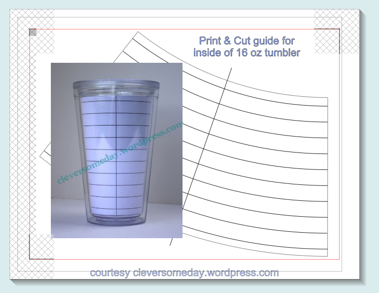 tumbler template freebie cameo creations vinyl pinterest
