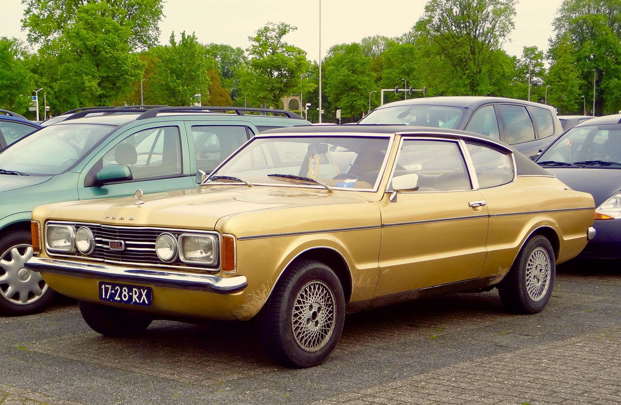 1971 Ford Taunus 2000 Coupe Ford Voiture Les Coupes