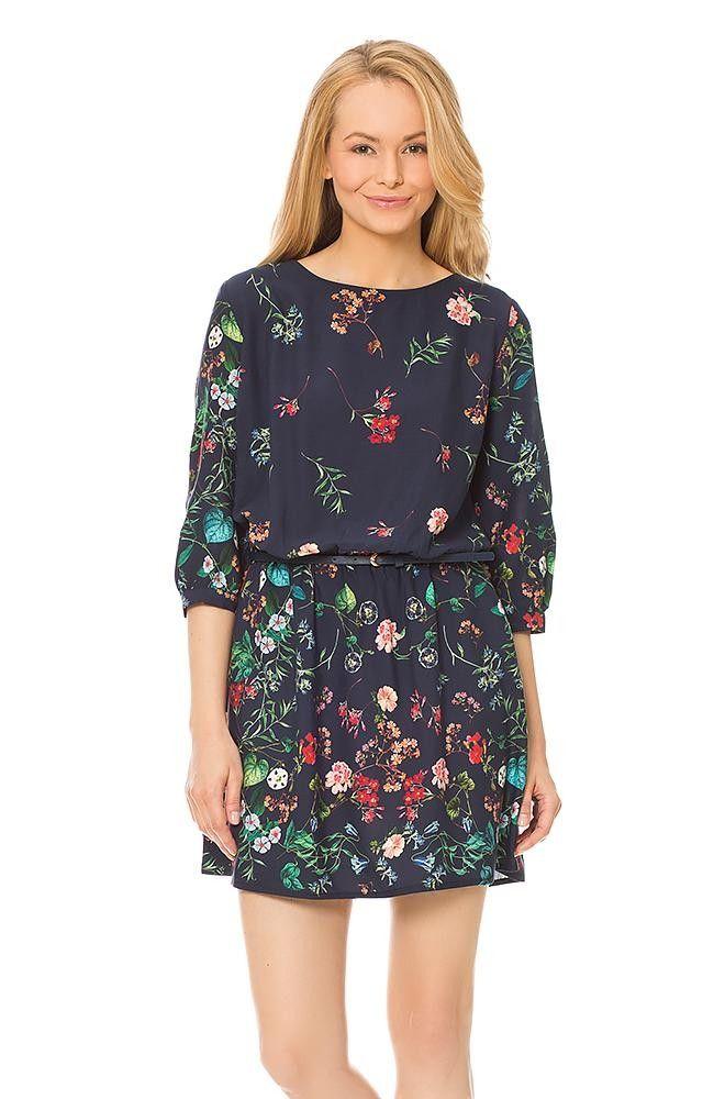 Orsay Sukienki Sukienka Tunika W Kwiaty Dress Skirt Fashion Dresses