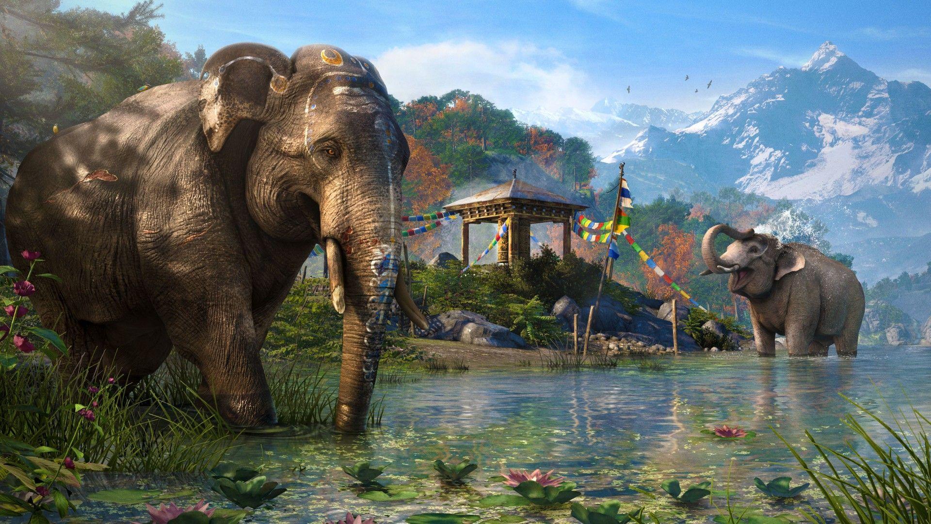 Far Cry 4 Game Open World Adventure Games Shooter Kyrat