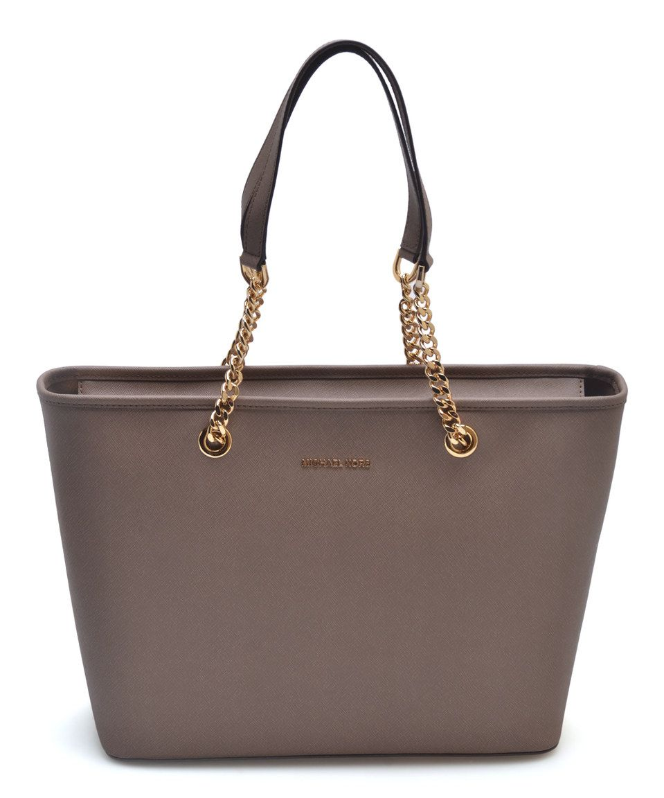 0b74f554c84ea9 ... discount another great find on zulily michael kors dark dune jet set  travel chain leather 2e165 ...