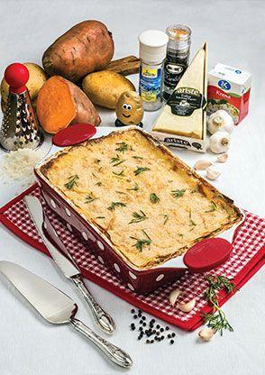 Taze Kekik ve Parmesanlı Kremalı Patates